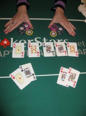 Poker klub split pot