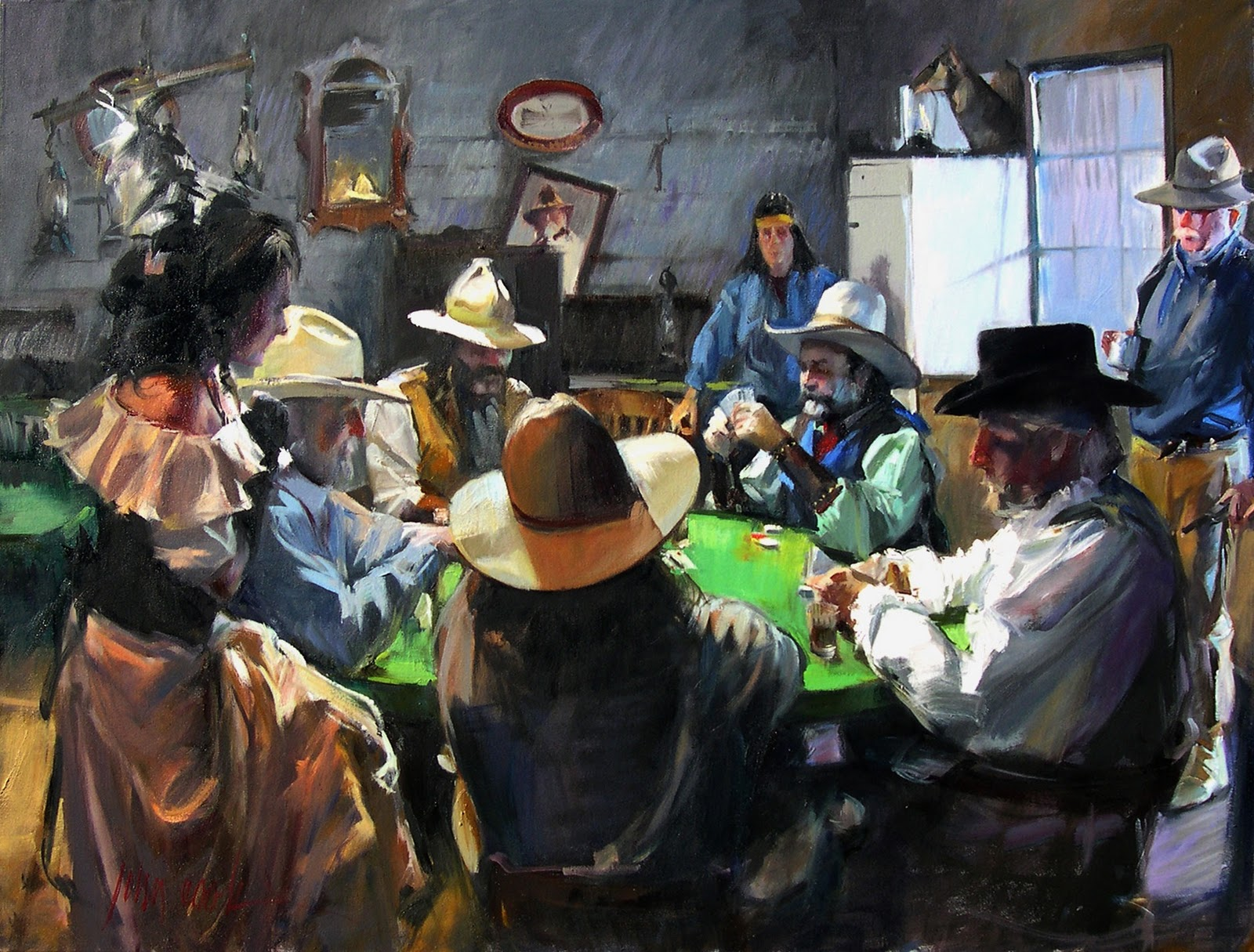 News The Greatest Modern Poker Paintings Of All Time