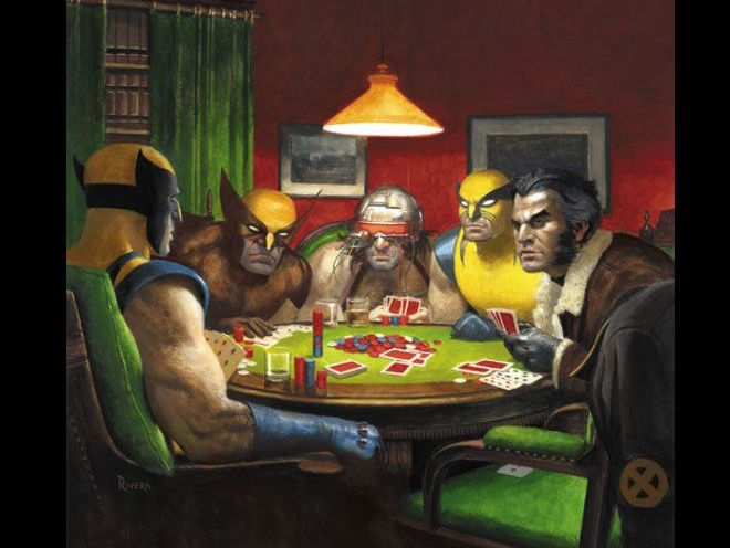 News Modern Versions Of Dogs Playing Poker