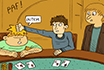 Poker Comic - Hesitation