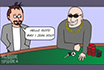 Poker Cartoon - Sharks and Fishes