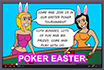 Poker Cartoon - Easter Tournament