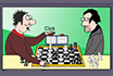 Poker Cartoon - Chess