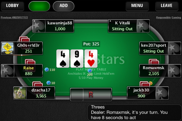 касса старс онлайн покер
