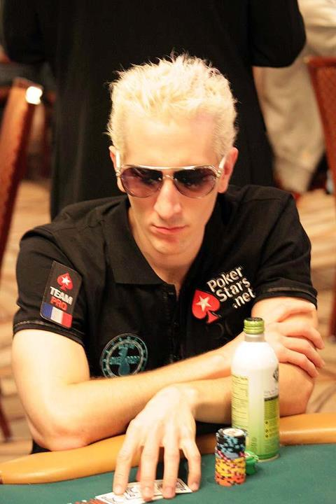 ElkY playing poker at the WSOP