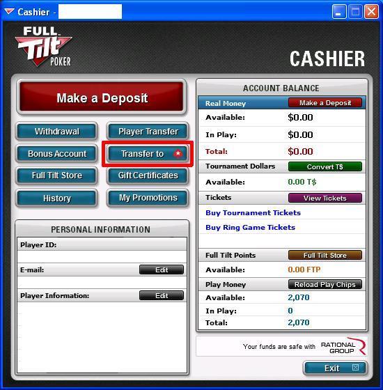Full tilt poker silver edge status gambling losses tax deduction proof
