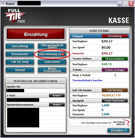 Full Tilt Poker Echtgeld