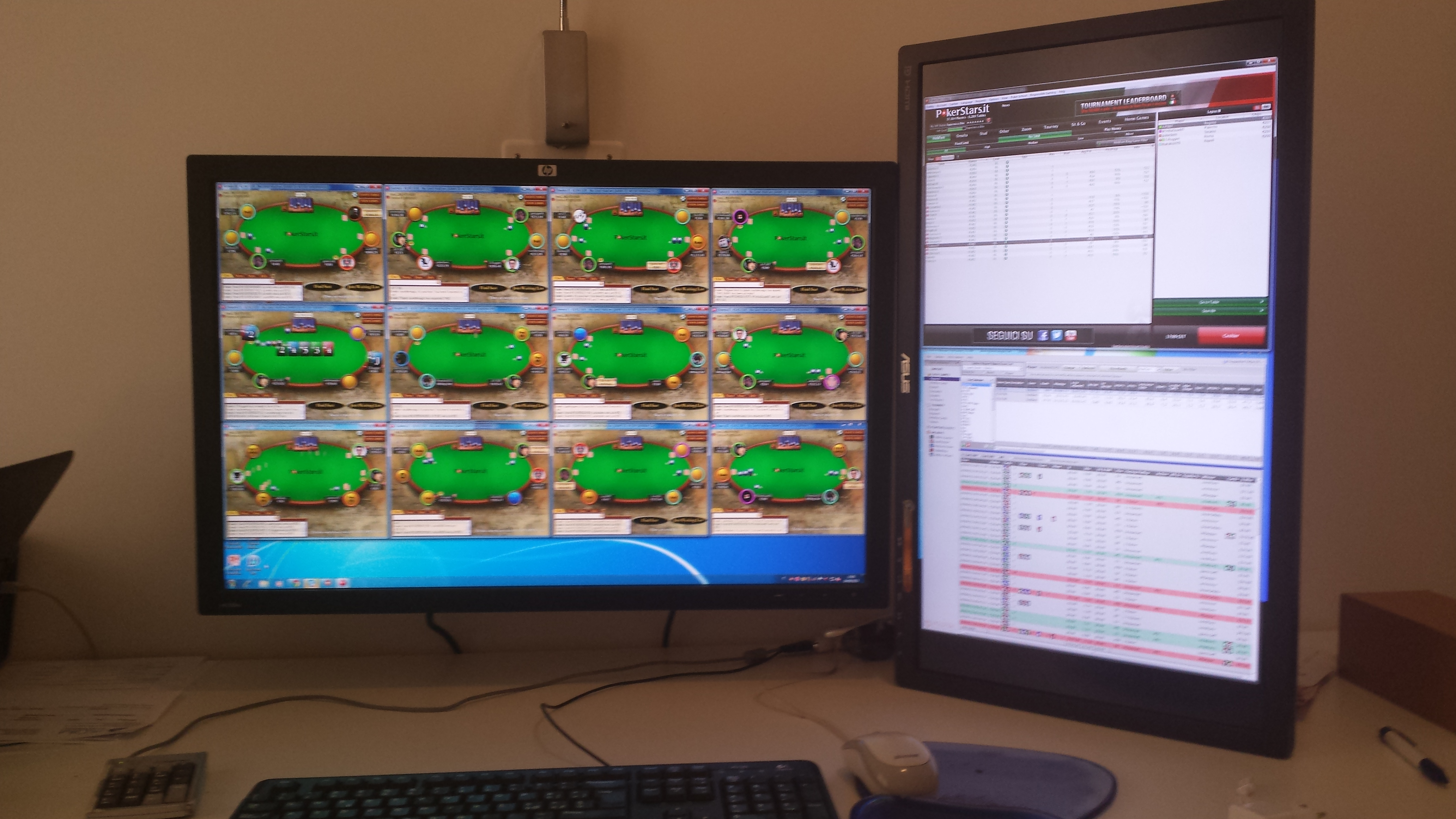 Live poker grinding strategy