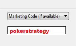 PokerStars marketingkód