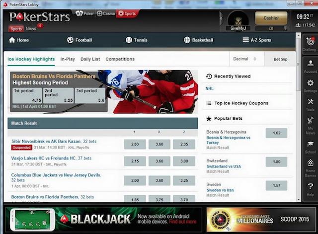 Спорт ставки на покер старс на я хочу деньги заработать в интернете