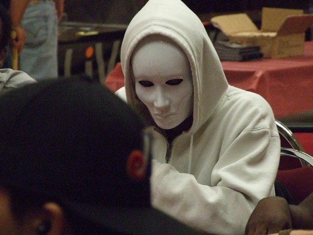 anonymnous poker player