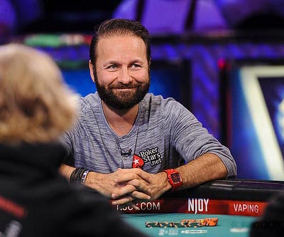 Daniel Negreanu at the WSOP