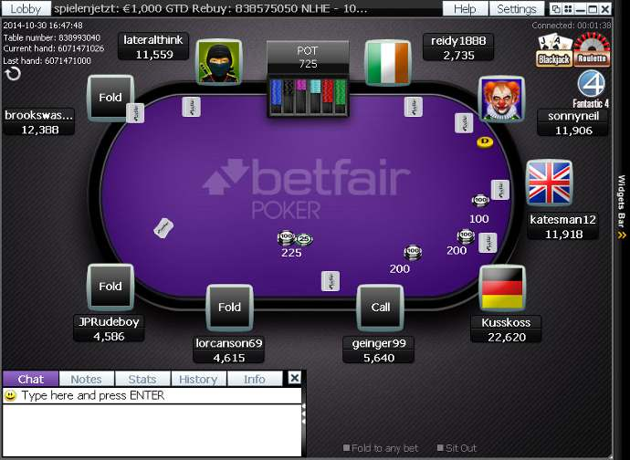 Betfair Poker Software Client