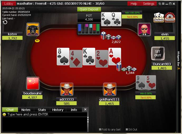 Ladbrokes Poker Software Client