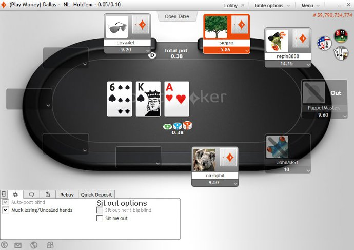 partypoker Software Client