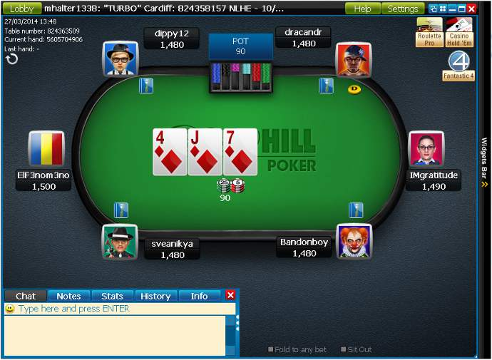 William Hill Software Client