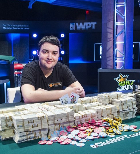 Reigning WPT World Champion Asher Coniff