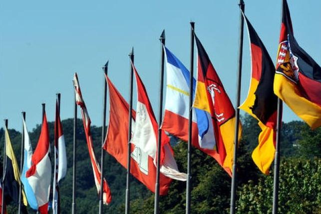 Bundesländer Fahnen