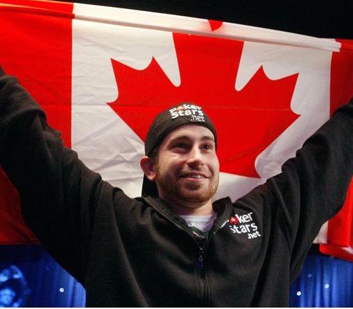 canada flag poker