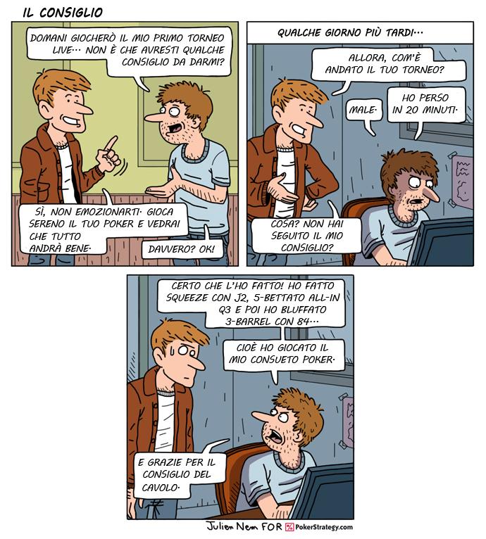Vignette Divertenti sul Poker Strategia