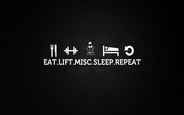 And time to sleep