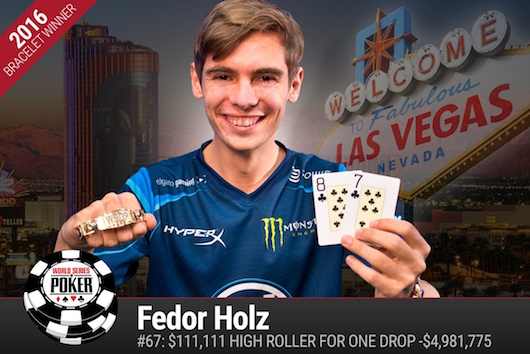 Fedor Holz WSOP 2016