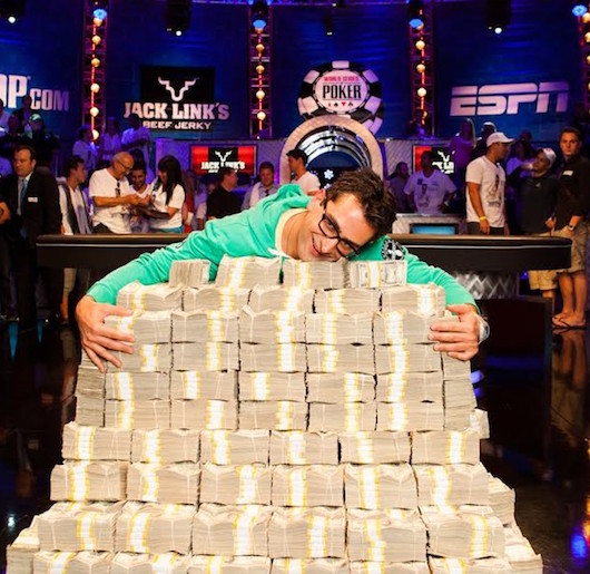 Antonio Esfandiari One Drop Cash