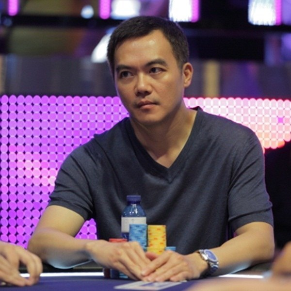 John Juanda playing poker