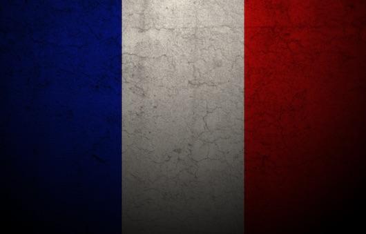 france poker flag