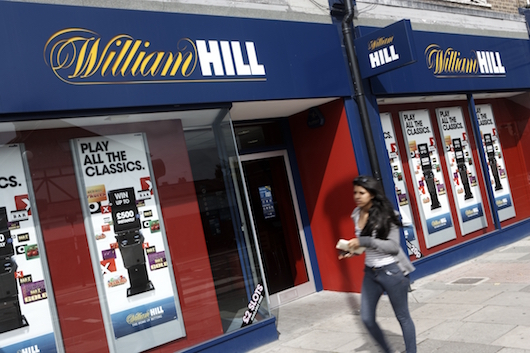 William Hill betting shop front