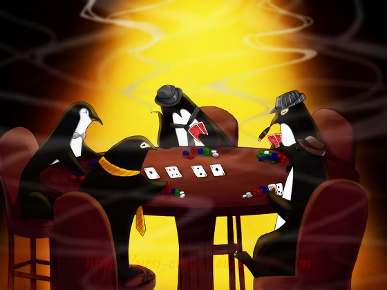 Pinguin Poker