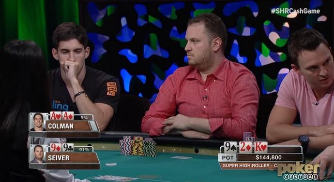 Colman vs Seiver, flop