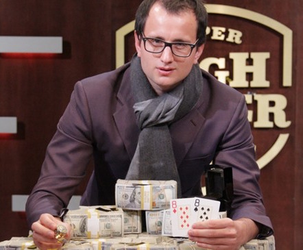 Rainer Kempe wins the Super High Roller Bowl