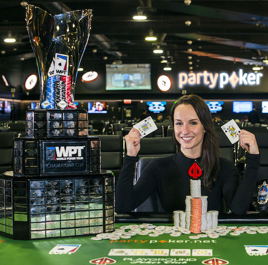 Ema Zajmovic WPT champion