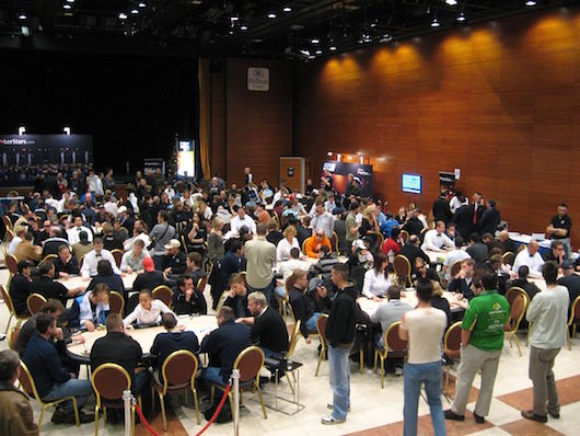 European Poker Tour tables