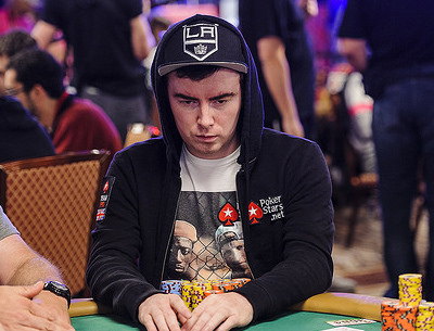 Jake Cody playing poker at the WSOP