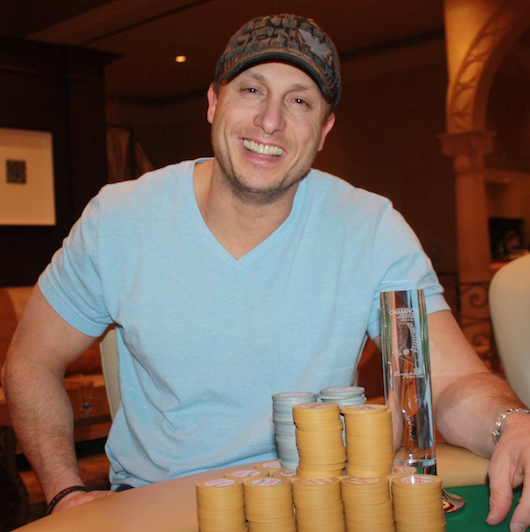 Poker player Mike Dentale