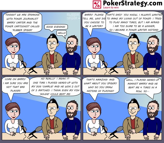 Funny Poker Cartoons Barry Carter