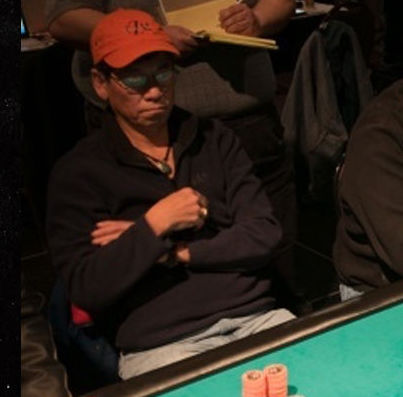 David Dao playing poker