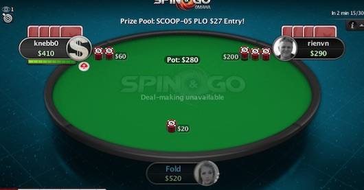 PLO Spin & Go