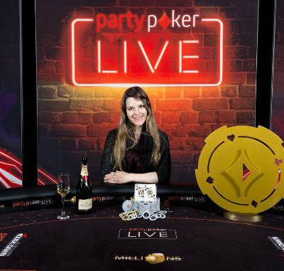 partypoker MILLIONS winner Maria Lampropulos
