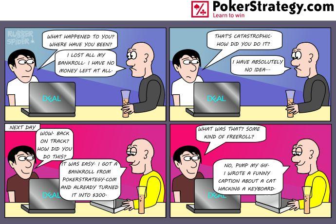 Funny Poker Cartoons Poker promotion