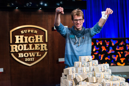 Christoph Vogelsang gewinnt Super High Roller Bowl