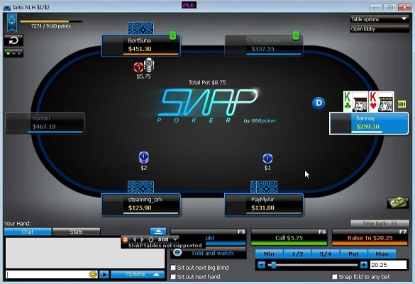 IronPumper snap poker video