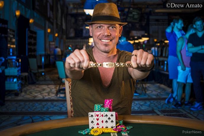 Sebastian Langrock gewinnt Bracelet