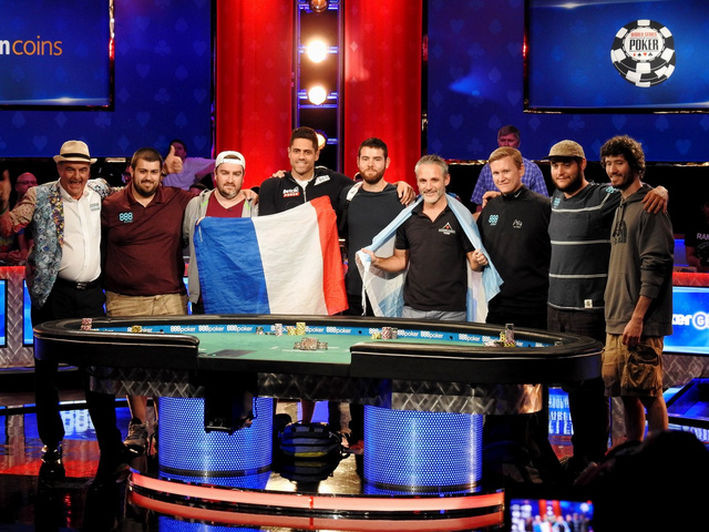 WSOP 2017 final table