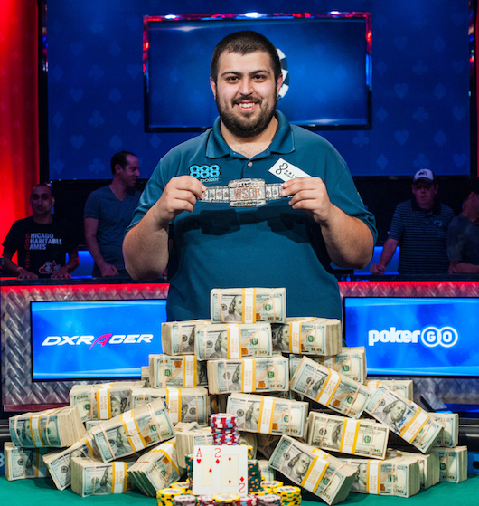 Scott Blumstein wsop main event 2017