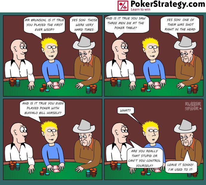 Funny Poker Cartoons Doyle Brunson