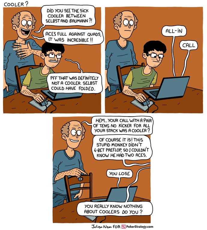 Funny Poker Cartoons Vanessa Selbst