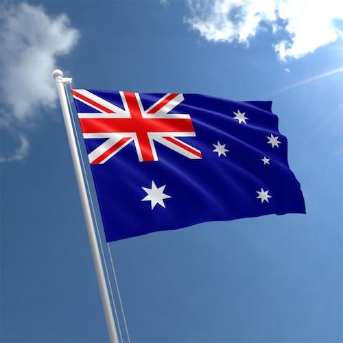 Австралия покер флаг